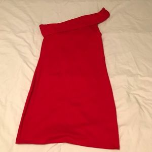 NWOT - never worn VS Bra Top One Shoulder Dress